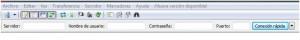 Conexión rápida de FileZilla.