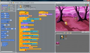 Entorno de Programación de Scratch